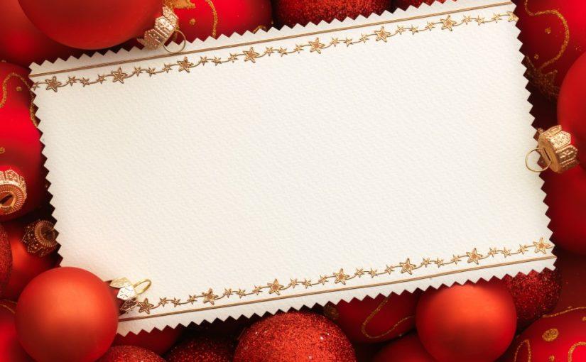 Lav en sjov julehilsen på og med etiketter